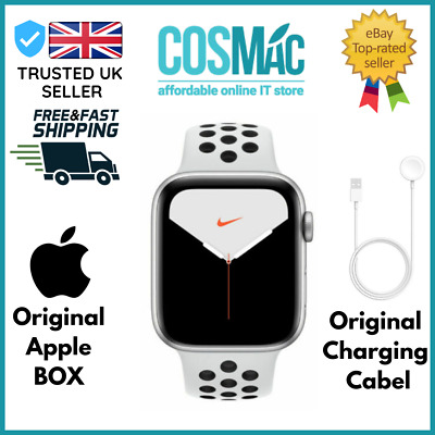 $ CDN562.67 • Buy Apple Watch Series 5 Nike+ GPS Only, 40mm, Space Gray Aluminum, Anthracite
