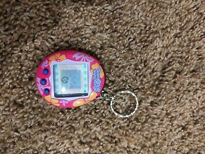 $ CDN15.19 • Buy Tamagotchi Connection V2 Magenta Hibiscus Pink Flowers 2004 Tested New Battery