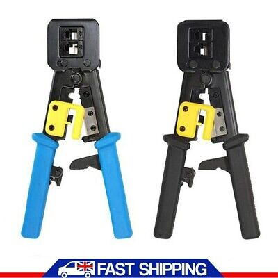 Insulated Electrical Cable Terminal Ratchet Crimping Tool Wire Crimper Plier UK • 6.95£