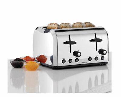 AU69 • Buy Heller 4-Slice Professional Stainless Steel Toaster Wide Centring Slots
