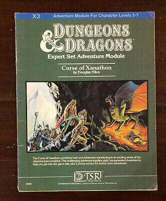 AU65 • Buy X3: Curse Of Xanathon, Dungeons And Dragons