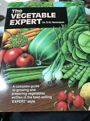 The Vegetable Expert Dr. D. G. Hessayon Paperback Book • 9.99£
