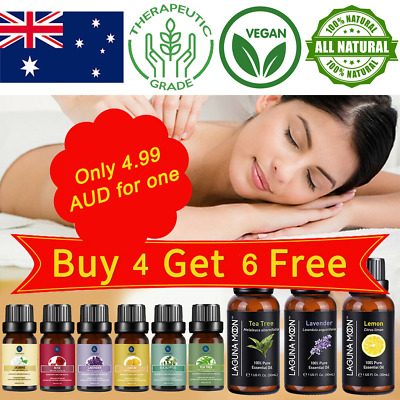 AU9.87 • Buy Essential Oil 100% Pure & Natural Aromatherapy Diffuser Fragrance Oils Aroma