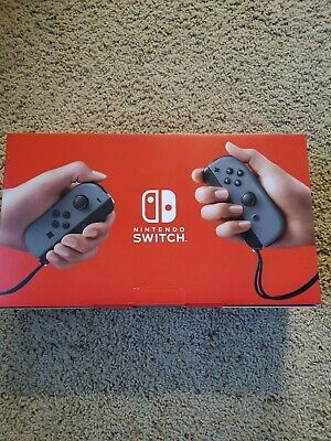 $ CDN549 • Buy New Nintendo Switch 32GB Gray Console (with Neon Red&Blue Joy-Cons)