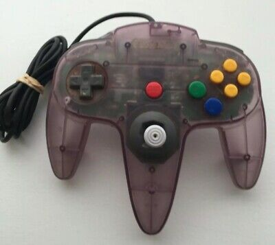 $ CDN42.56 • Buy Nintendo 64 N64 Controller - Atomic Purple - AUTHENTIC | TESTED