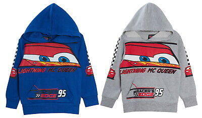 Boys Disney Cars Hoodie Hooded Jumper Kids Lightning McQueen Fleece Hoody Top • 11.95£