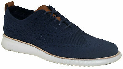 $ CDN118.62 • Buy Cole Haan Men's 2.ZeroGrand Stitchlite Oxford Blue/Gray Style C27569