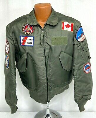 $ CDN151.24 • Buy US Coast Guard Patched CWU-36/P Flight Jacket