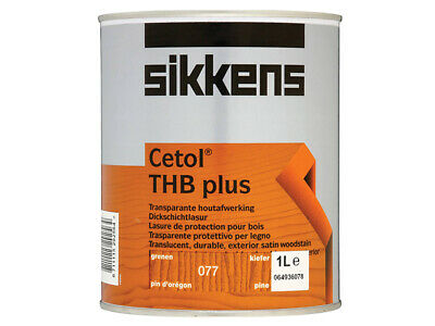 £28.46 • Buy Sikkens Cetol THB Plus Translucent Woodstain