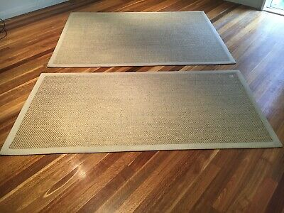 AU50 • Buy Rugs X 2 Natural Fibre (The Natural Floor Coverings Centres)
