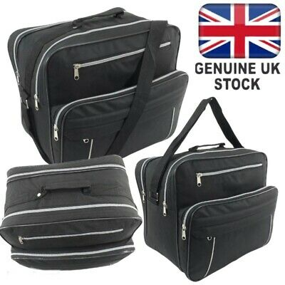 Holdall Hand Luggage Cabin Bag Hook On Flight Overnight Case Mens Travel Busines • 11.95£