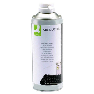 Q Connect 400ml Compressed Air Can Duster Spray Can Cleaner Laptop Keyboard • 6.49£