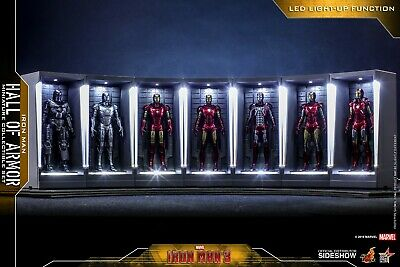 $ CDN375 • Buy Iron Man Hall Of Armor Miniature Collectible Set By Hot Toys