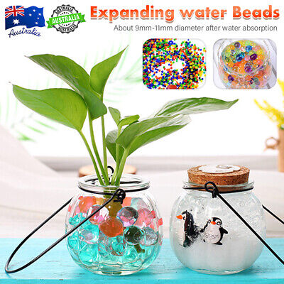 AU17.99 • Buy AU Orbeez Crystal Soil Water Balls Jelly Gel Beads For Vase Home Wedding 9-11mm