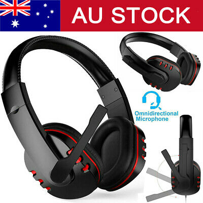 AU18.28 • Buy USB Gaming Headset Stereo Surround Headphone Wired Earphone For PS4 With Mic TX