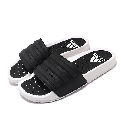 AU141 • Buy Adidas Adilette BOOST White Black Men Women Unisex Sandals Slides Slipper EG1910
