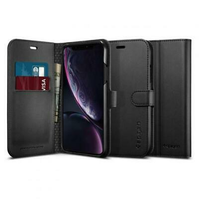 AU43.33 • Buy Spigen IPhone XR (6.1 ) Premium Flip Wallet Case,Black, Convenience,Premium Qual