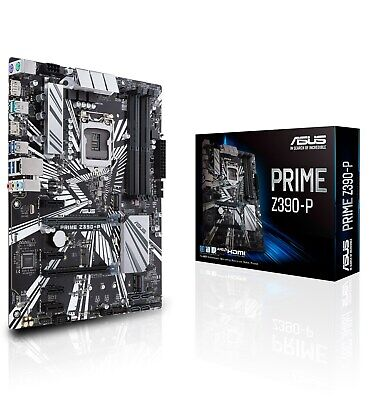 CCL 4.9GHz Intel I7 9700K Bundle - UHD 630, ASUS PRIME Z390-P Motherboard • 395.99£