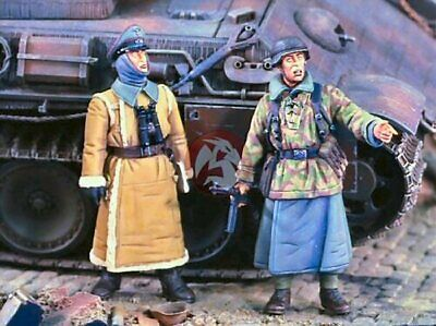 Verlinden Productions 1701 German Officer & NCO WWII 1/35 Scale Resin Figures • 19.95£