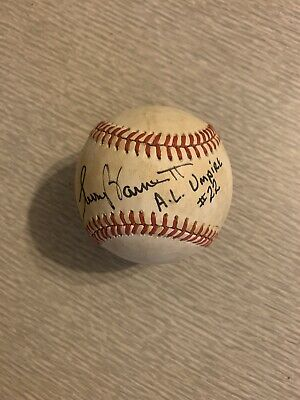 $ CDN26.41 • Buy Autographed Signed MLB Baseball Major American League Umpire Larry Barnett #22