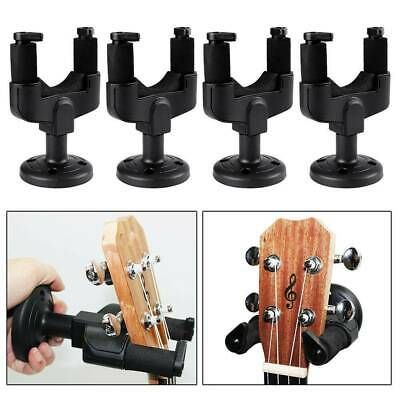 AU4.85 • Buy 1Set Guitar Wall Mount Hanger Stand Rack Hook Holder For Guitar Ukulele Bass