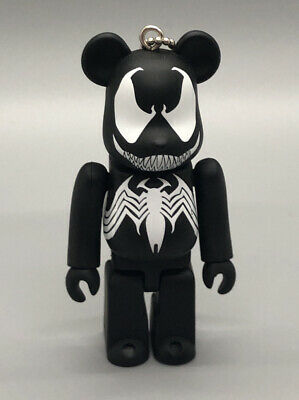 $59.99 • Buy RARE Medicom 100% Bearbrick Marvel Spider Man Venom USSeller Happy Kuji Figure