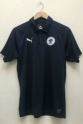 £14.99 • Buy Chester FC Adults Puma Navy Blue Match Day Travel Polo Shirt Size Size Small