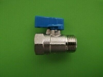 £7.99 • Buy 1/2  BSP Lever Ball Valve M/F Water Air Fuel Gas - Quality Fitting