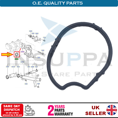 Thermostat Housing Seal Gasket For Ford Focus Mk1 Mk2 Mondeo Mk4 C-max Galaxy • 5.99£