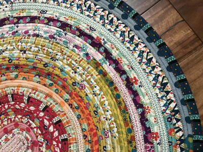 Jelly Roll Rug Kit Includes Bozal Wadding, Jelly Roll & Info 100% Cotton FreeP&P • 24.95£