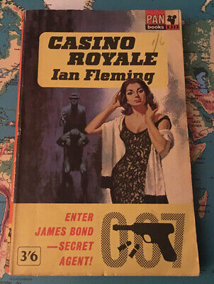 James Bond Casino Royale By Ian Fleming Pan Book X232 12th (Reset) Print 1963 • 14£