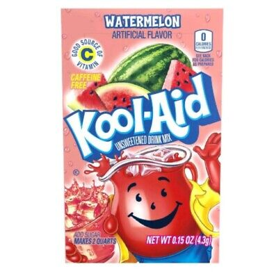🍉Kool-Aid Drink Mix Watermelon 8 Packets  🍉  🍉  🍉 🍉 🍉 🍉 🍉🍉🍉🍉🍉🍉🍉🍉 • 4.59£