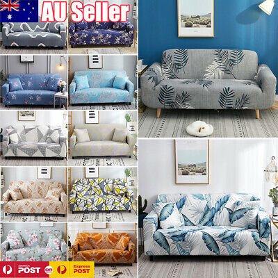 AU22.99 • Buy 1/2/3/4 Seater Elastic Sofa Cover Slipcover Stretch Couch Protector Sofa Decor