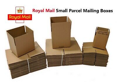 Variety Of Royal Mail Small Parcel Size Postal Cardboard Boxes *all Sizes* • 9.83£