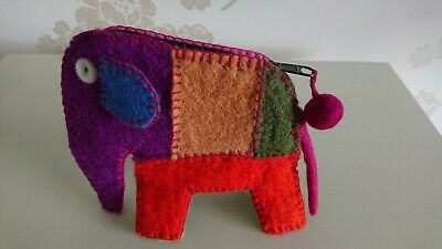 Elephant Purse In  Lucky Dip  Colours! • 7.50£