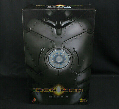 $ CDN400.88 • Buy Hot Toys Iron Man 1 Mark II Collector's MMS78 MIB 1/6 Scale Sideshow Exclusive