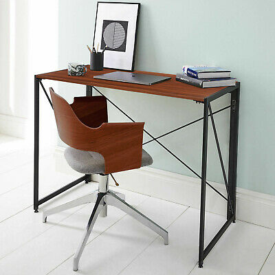 AU69 • Buy Industrial Style Folding Computer Desk Study Laptop Office Notebook Console