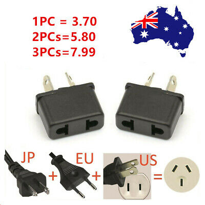 AU3.70 • Buy  USA US EU JAPAN ASIA To AU Australia Plug AC Power Adapter Travel Converter