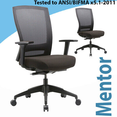 AU429 • Buy Office Ergonomic Chair Buro Mentor Nylon Base Performance Chair