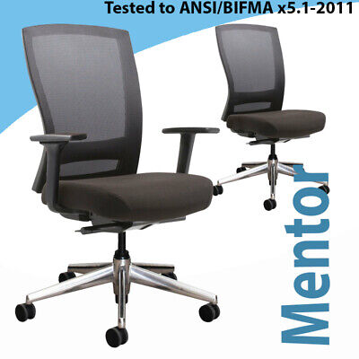 AU479 • Buy Office Ergonomic Chair Buro Mentor Polished Aliumlium  Base Performance Chair
