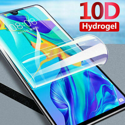 HD Screen Protector For Huawei P40 Pro P20 Mate 20 Lite Clear Soft Hydrogel Film • 1.49£