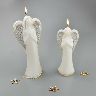 £5.99 • Buy Angel Candle White