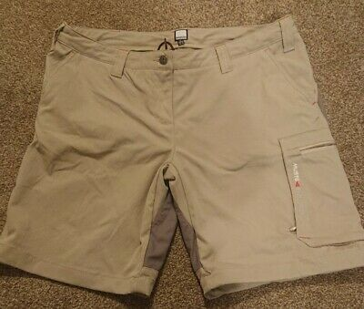 Womens Musto Beige Evolution Shorts Size 16 • 39.99£