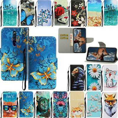 AU9.99 • Buy Magnetic Leather Flip Stand Case Cover For OPPO A3S A5S A1K A52 F11 Pro C3 C11