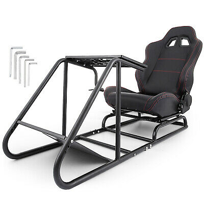 Racing Simulator Cockpit Driving Seat Gaming Chair Sturdy XBOX 360 Anti-rust • 229.99£