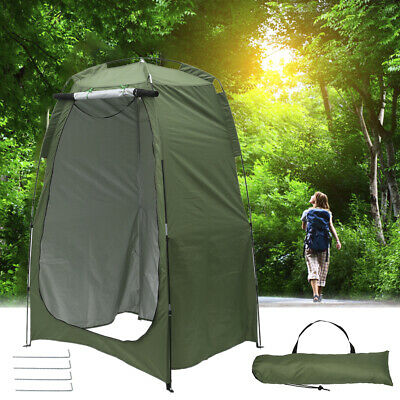 AU55.99 • Buy  Portable Pop Up Changing Room Shower Tent Camping Privacy Toilet Shelter Bag