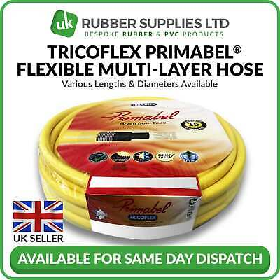 £43 • Buy Tricoflex Primabel Flexible Multi-Layer Hose Pipe 12.5mm,19mm, 25mm X 25m Or 50m