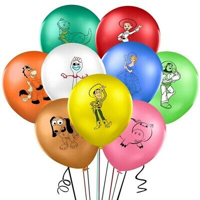 Large Toy Story Printed 12inch Latex Birthday Party Balloons Decoration • 5.19£