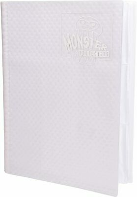 AU56.95 • Buy Monster Binder - 9 Pocket Album, Holofoil White With White Pages
