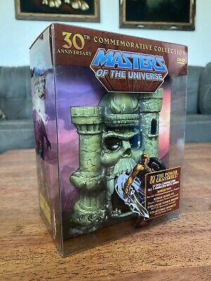 $200 • Buy Masters Of The Universe: 30th Anniversary Commemorative Collection DVD Set Rare
